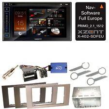 XZENT X-402 Bluetooth USB CD Navigation Einbauset für Ford Focus Fusion Galaxy S