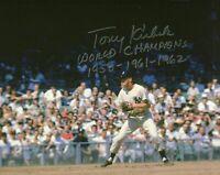 Tony Kubek Autographed Signed 8x10 Photo ( Yankees ) REPRINT