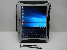 Panasonic Toughbook CF-19 Tablet/Laptop Touchscreen Backlit KB DVD Win 10 Pro