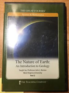 Great Courses DVD The Nature of Earth An Intro to Geology, John J. Renton Part 2