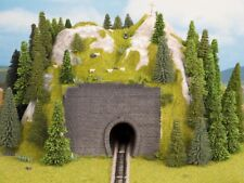 Noch 44790 Z Tunnel Vorsatz-Portal 1-gleisig 9 x 7 cm 2x