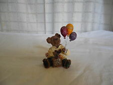 Boyds Bears Bearstone goodfer U bear balloon bear