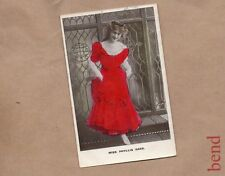 Postcard Edwardian Actress Miss Phyllis Dare unposted  . b2