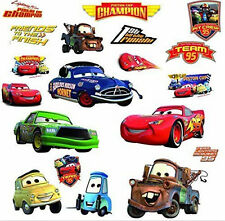 Disney CARS Piston Cup wall stickers MATER 19 decals Lightning McQueen +