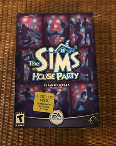 The Sims: House Party Expansion Pack (PC, 2002) BRAND NEW - FACTORY SEALED