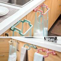 Kitchen Hanging Trash Garbage Rubbish Carrier Plastic Bag Bin Sack Hanger Holder