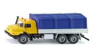 Siku 3547 Mercedes-Benz Zetros with platform and canvas cover Scale 1:50