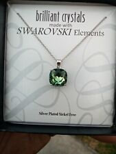 Brilliant Crystals Swarovski Elements Green
