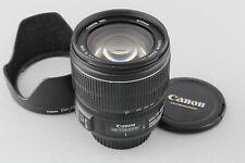 Canon EF-S 15-85mm F/3.5-5.6 IS USM lens w/ hood