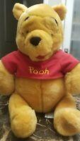 Disney Authentic Winnie the Pooh Plush Medium - 14''