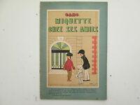 MIQUETTE ET POLO N°14 TBE MIQUETTE CHEZ SES AMIES 1927