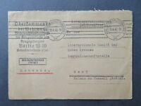 Germany 1940 Charlottenburg POW Cover to Switzerland (II) - Z8101