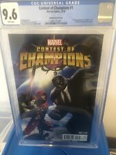 contest of champions 1 kabam variant  cgc 9.6 1st white fox
