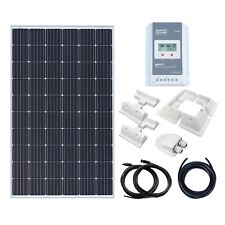 300W 12V/24V solar panel charging kit for motorhome,caravan,camper,boat,off-grid