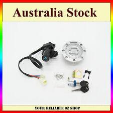 Ignition Switch Lock Fuel Gas Cap Key Set For Yamaha YZF R1 R6 R6S FZ6 FJR1300