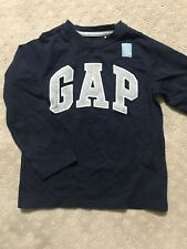 GAP NWT Boys 5 Yrs Navy Top With