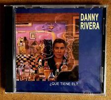 """DANNY RIVERA - """" QUE TIENE EL?"""" - CD NEW (SALSA)"""