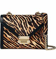 Michael Kors Bag Handbag Whitney Sm Shoulder Bag Haircalf Butterscotch New