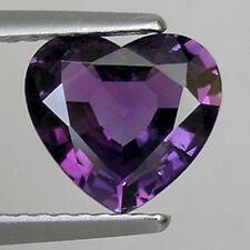 1.68 ct  BEST GRADE PURPLE - VOILET NATURAL SAPPHIRE  HEART CUT  _ 598 T3