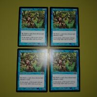 Merfolk Looter x4 - Exodus - Magic the Gathering MTG 4x Playset