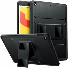 MoKo Heavy Duty Shockproof Case Stand Cover Screen Protector for iPad 10.2 2019