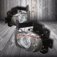 Clear Lens Housing Driving/Bumper Fog Light+Wiring For Honda 92-95 Civic EG8/EH9