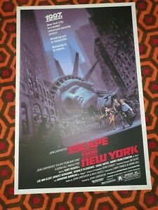 Escape From New York - Limited Edition Screen Print by Barry Jackson nt Mondo