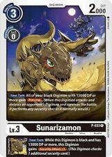 Sunarizamon P-033 Foil Digimon Card