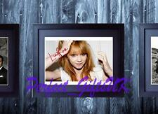 Lucy Rose SIGNED AUTOGRAPH FRAMED 10x8 REPRO PHOTO PRINT