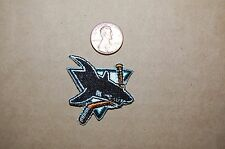 "San Jose Sharks small Collar Size 1 3/4"" Patch 1991-1998 Primary Logo Hockey"