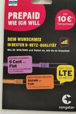 Congstar Prepaid Wunschmix 2019 Inkl. 10€ SGH