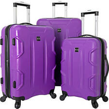 Travelers Club Luggage Camden 3 Piece Hardside Spinner Luggage Set