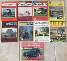 Vintage Lot of 9 Automobile Magazines Cars & Parts AMN Special Interest 1970s