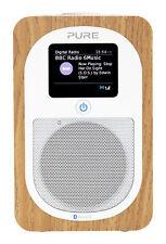 Pure Evoke H3 Portable DAB Digital and FM Radio With Bluetooth Oak Vl-62968