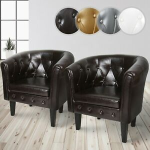 MIADOMODO® Chesterfield Sessel Loungesessel Clubsessel Cocktailsessel Stuhl Sofa