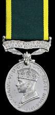 WW2 EFFICIENCY MEDAL WITH UNION OF SOUTH AFRICA SUSPENDER,WO.CL.2 COHEN G.S.C