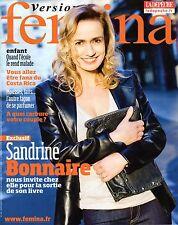 Mag 2010: SANDRINE BONNAIRE