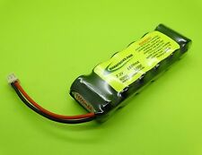 PAIR (2 PACKS) 7.2V 1600 BATTERY FITS ASSOCIATED RC18T RC18B RC18R / MADE IN USA