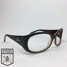 GUESS eyeglasses CHOCOLETE RECTANGLE WRAP AROUND frame MOD: GU 7134