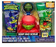 Teenage Mutant Ninja Turtles 4 Piece Soap & Scrub. - Rapheal