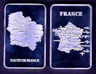 ★★ MAGNIFIQUE LINGOT PLAQUE ARGENT ● NOUVELLE REGION HAUTS DE FRANCE ★★R2