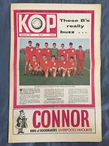 Liverpool FC  -  KOP Newspaper  -  October 25th 1967  -  Issue No 30