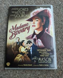 MADAME BOVARY Jennifer Jones James Mason Region Free UK COMPATIBLE DVD