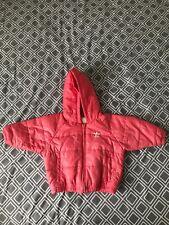 Adidas Girls Coral Puffa Jacket - 12-18mths, coat jacket 100% polyester