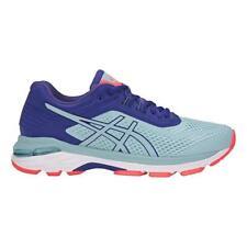 NEW ASICS Women's GT-2000 6 (D) Running Shoe, Porcelain Blue, 7 D US