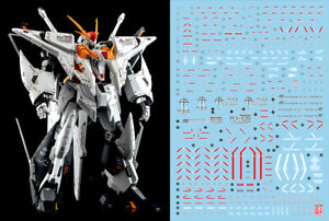 Gundam water slide decal SIMP sticker C54 HG 1/144 Xi Gundam Enhanced Design