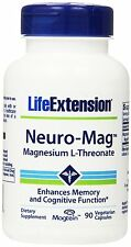Life Extension, Neuro-Mag, Magnesium-L-Threonat, 90 Veggie Kapseln
