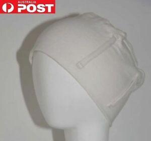 3 Sets Hat Cap & 3 Bandana Scarf Scarves Black White Chemo Hair Loss Alopecia