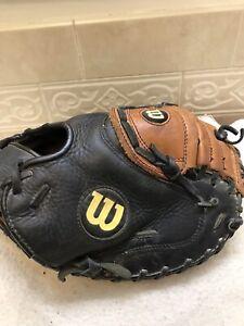"Wilson A500 PCM 32"" Youth Baseball Softball Catchers Mitt Right Hand Throw"