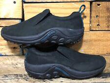 Merrell J55992 Women's Jungle Moc Nubuck Walking Shoes Black US 7 UK 4.5 EU 37.5